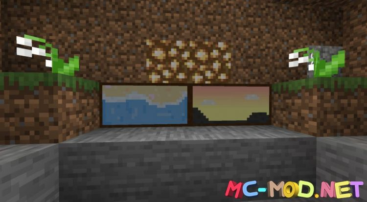 Dark Paintings mod for Minecraft (2)_compressed
