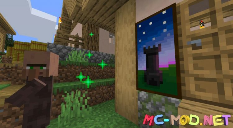 Dark Paintings mod for Minecraft (6)_compressed