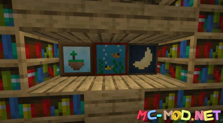 Dark Paintings mod for Minecraft (8)_compressed