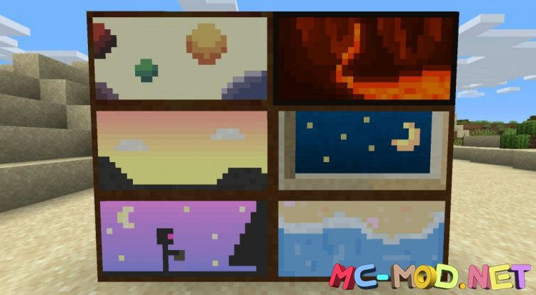Dark Paintings mod for Minecraft (9)_compressed