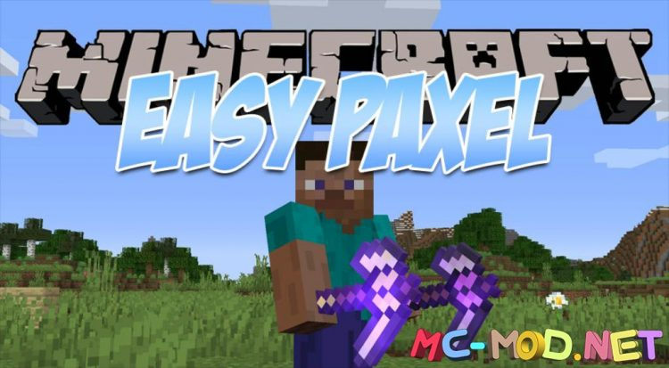 Easy Paxel mod for Minecraft logo_compressed