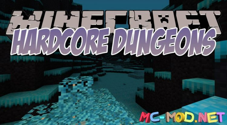 Hardcore Dungeons mod for Minecraft logo_compressed