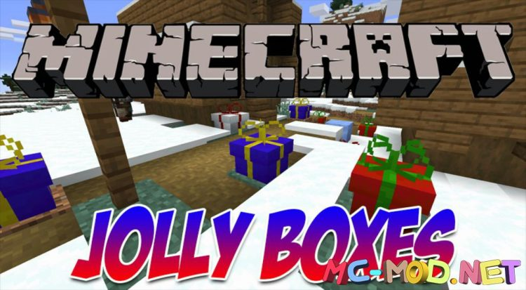 Jolly Boxes mod for Minecraft logo_compressed