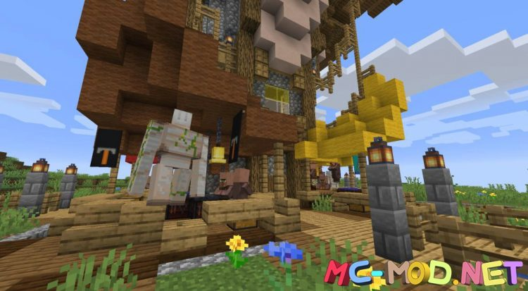 Mo_ Structures mod for Minecraft (7)_compressed