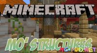 Mo_ Structures mod for Minecraft logo_compressed