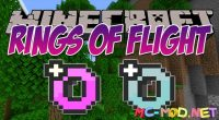 Rings of Flight mod for Minecraft logo_compressed