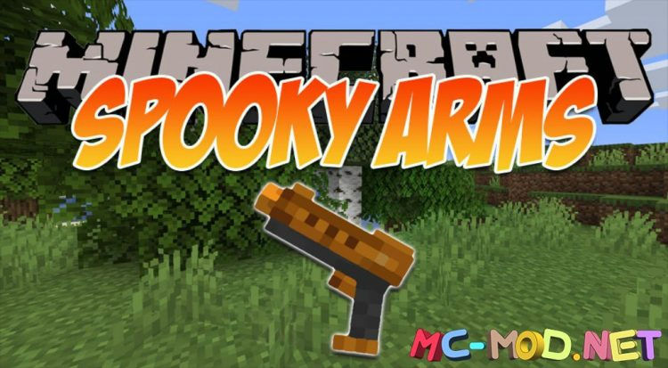 Spooky Arms mod for Minecraft logo_compressed