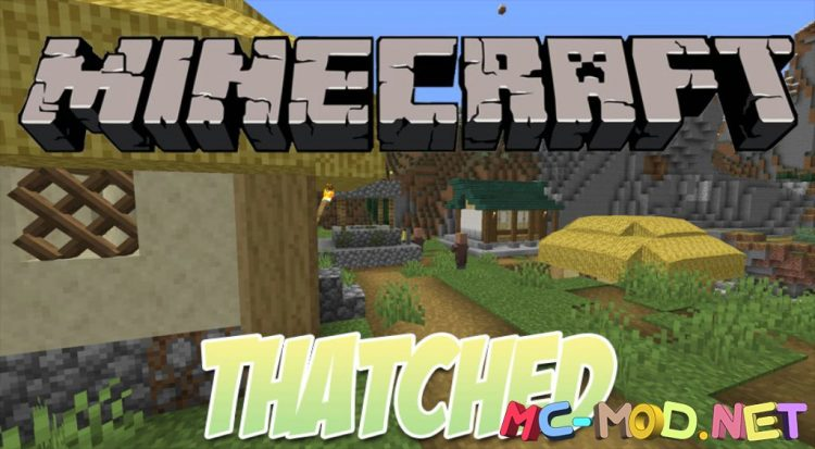 Thatched mod for Minecraft logo_compressed