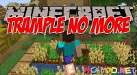 Trample No More mod for Minecraft logo_compressed